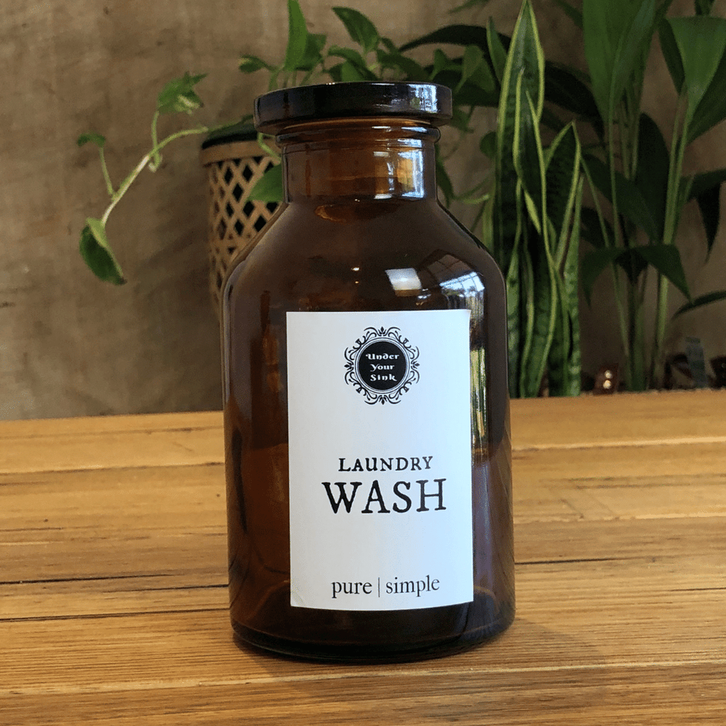 Laundry Wash Apothecary Jar
