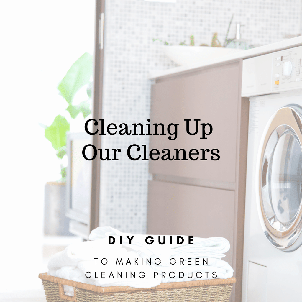 Green Cleaning Recipes & Guide (digital download)