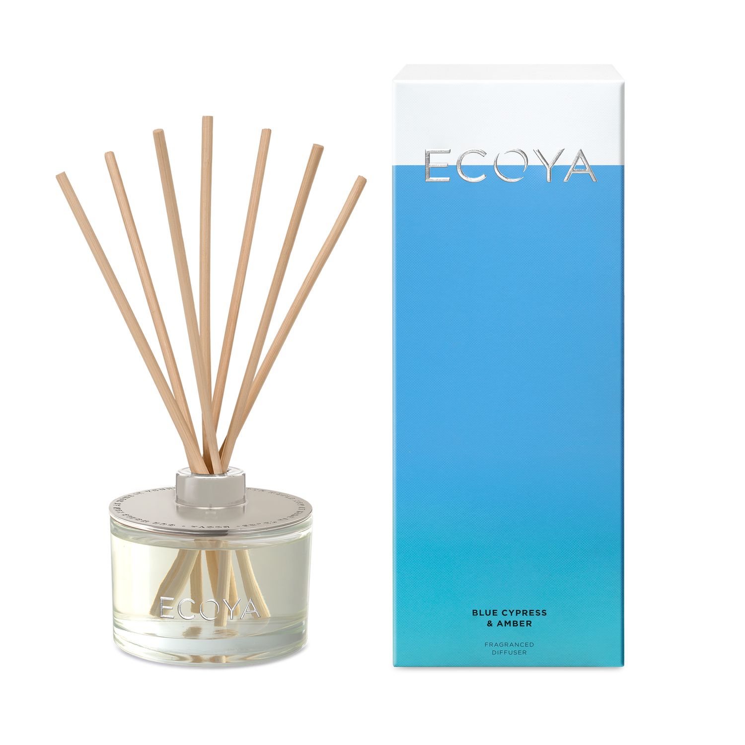 Blue Cypress & Amber Fragranced Diffuser (10753497682)
