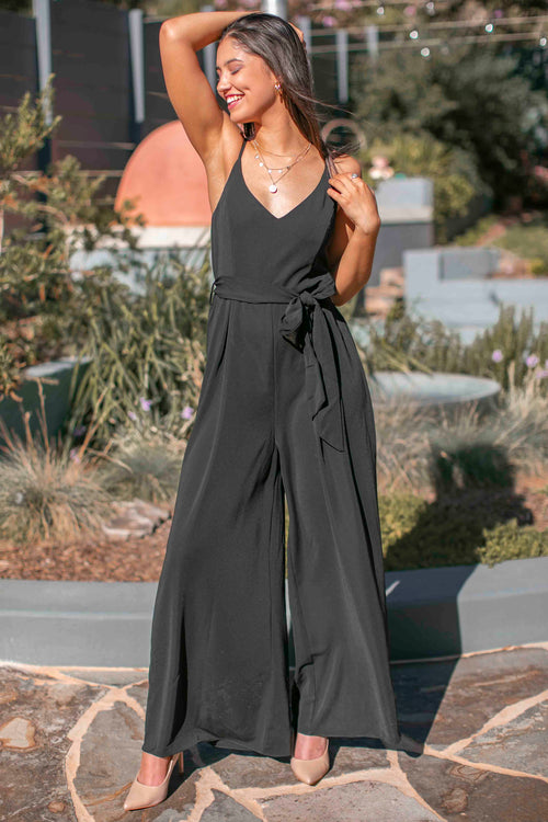 Phillipa Jumpsuit in Black