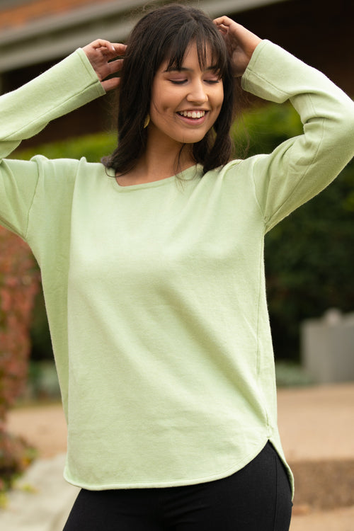 Maeve Jumper in Sage