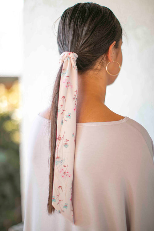 Blossom Headscarf in Blush
