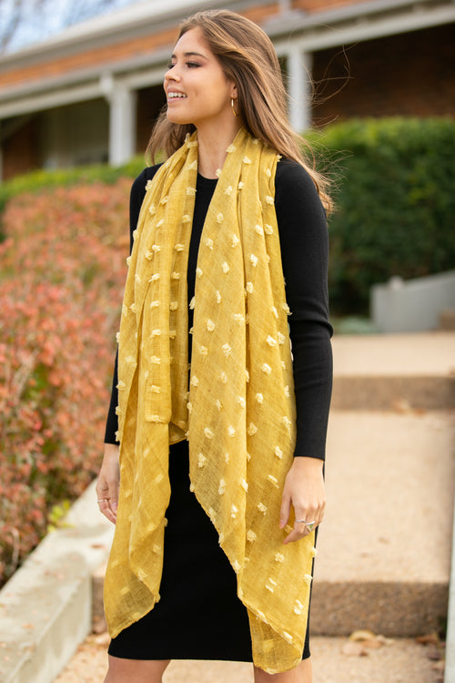 Ophelia Scarf in Mustard