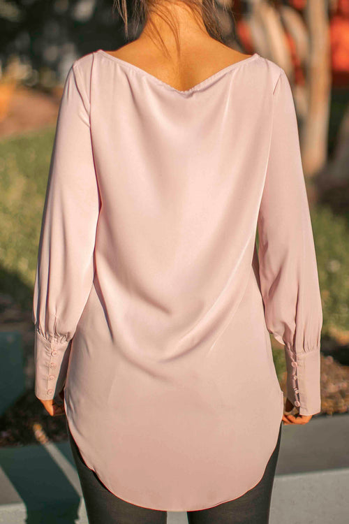 Mina Top in Blush