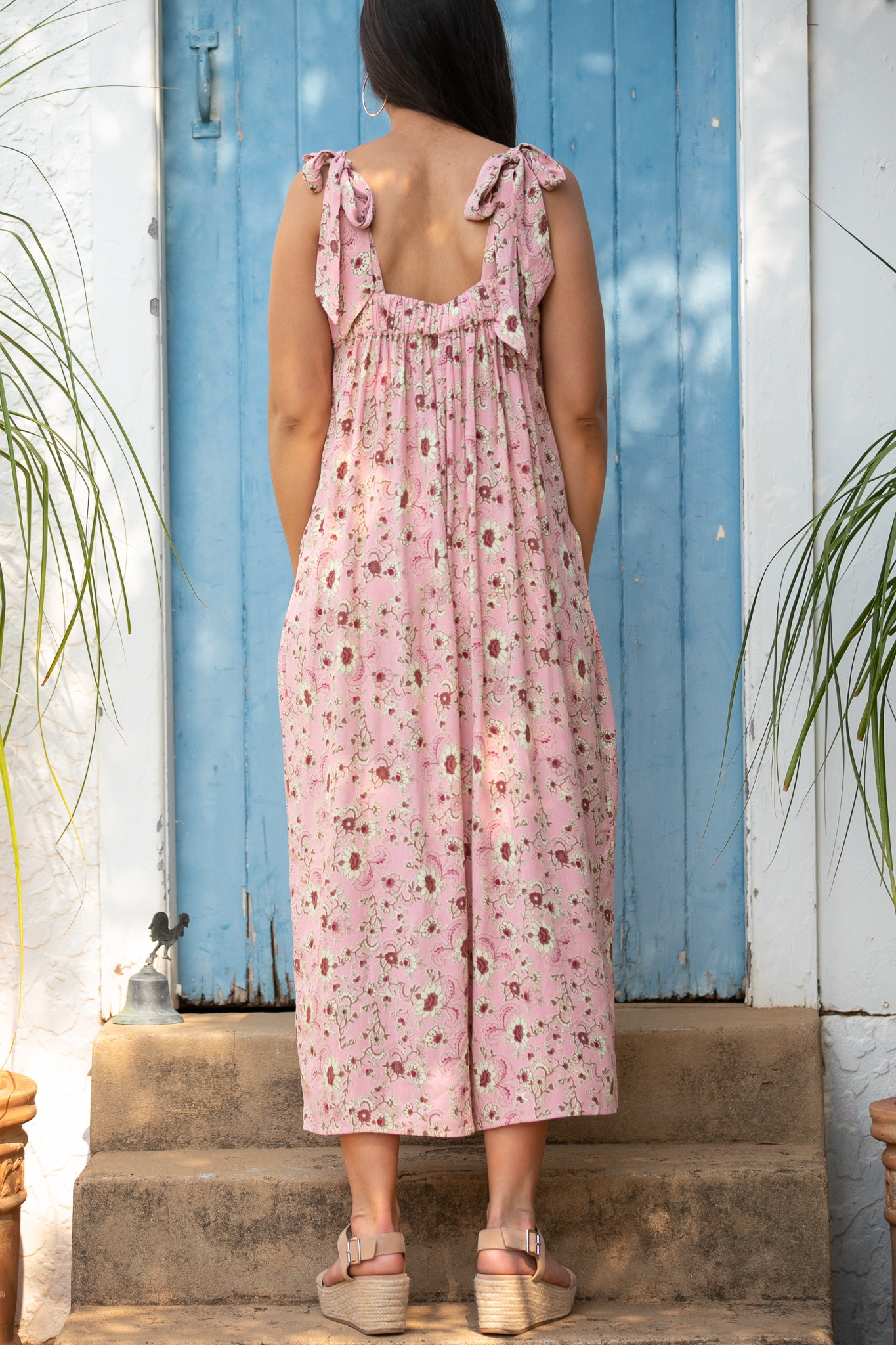 Pat Jumpsuit in Pink
