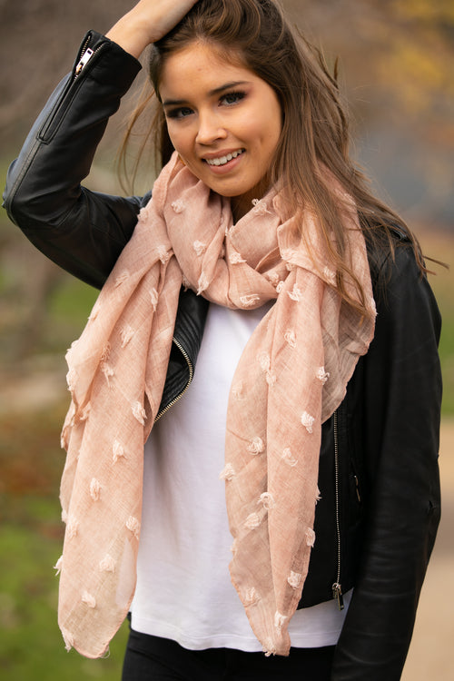 Ophelia Scarf in Blush