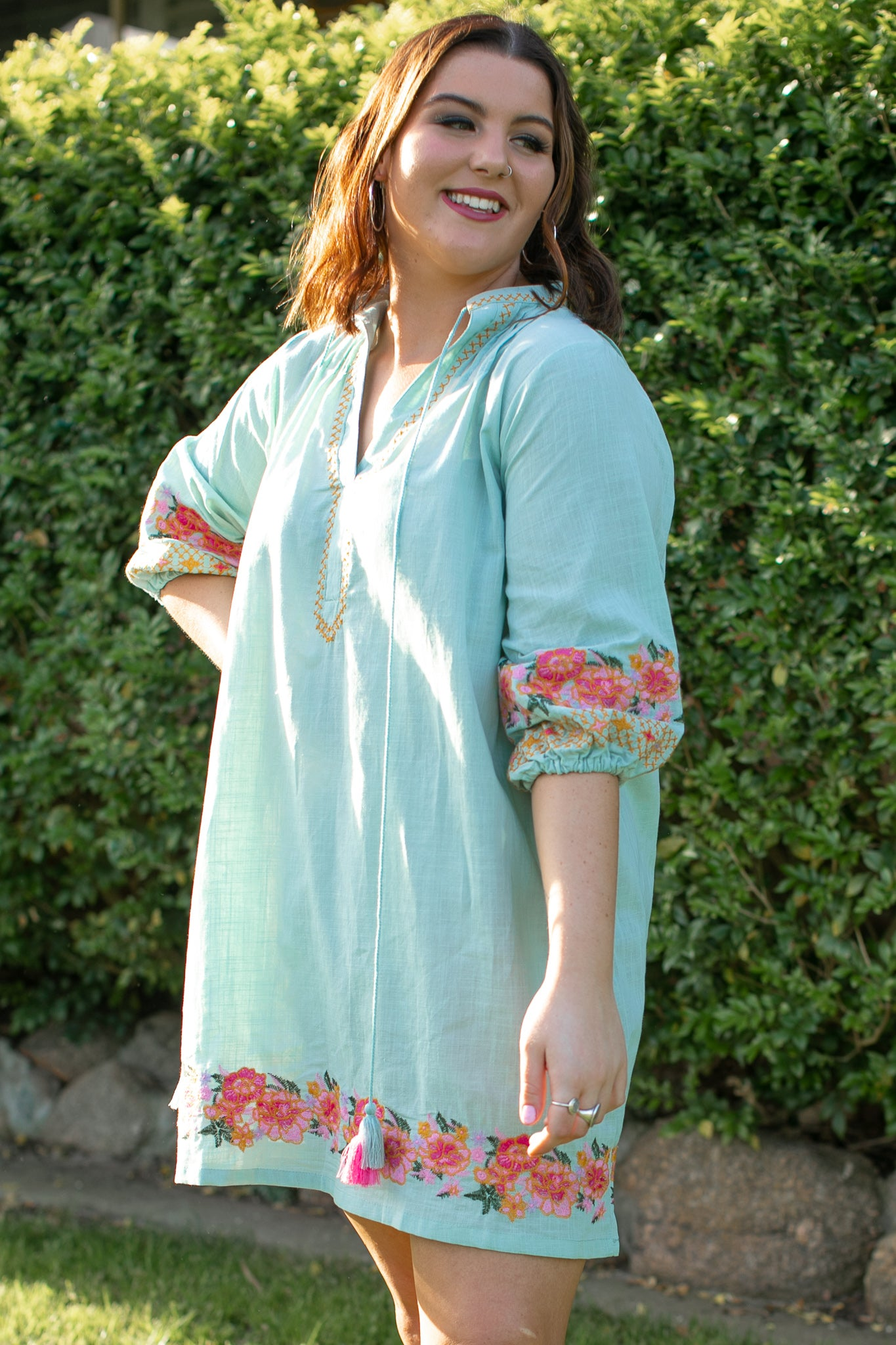 Lucille Dress in Sage