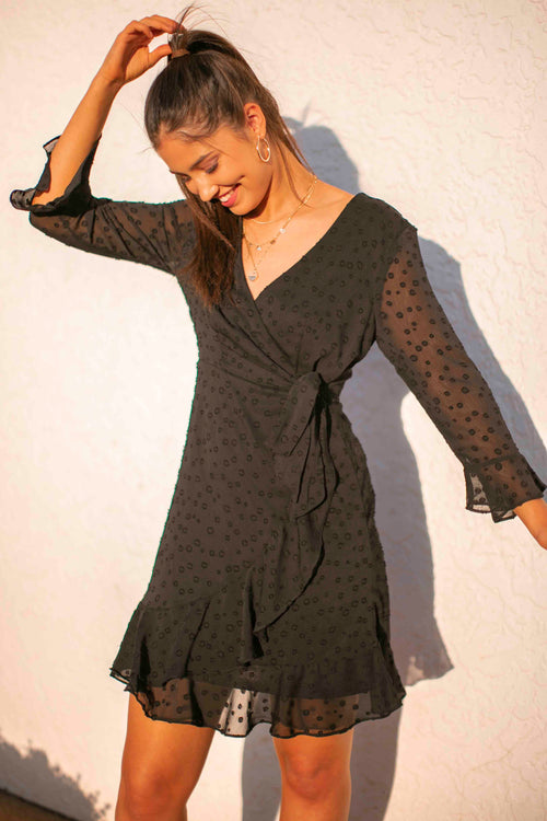Masie Dress in Black