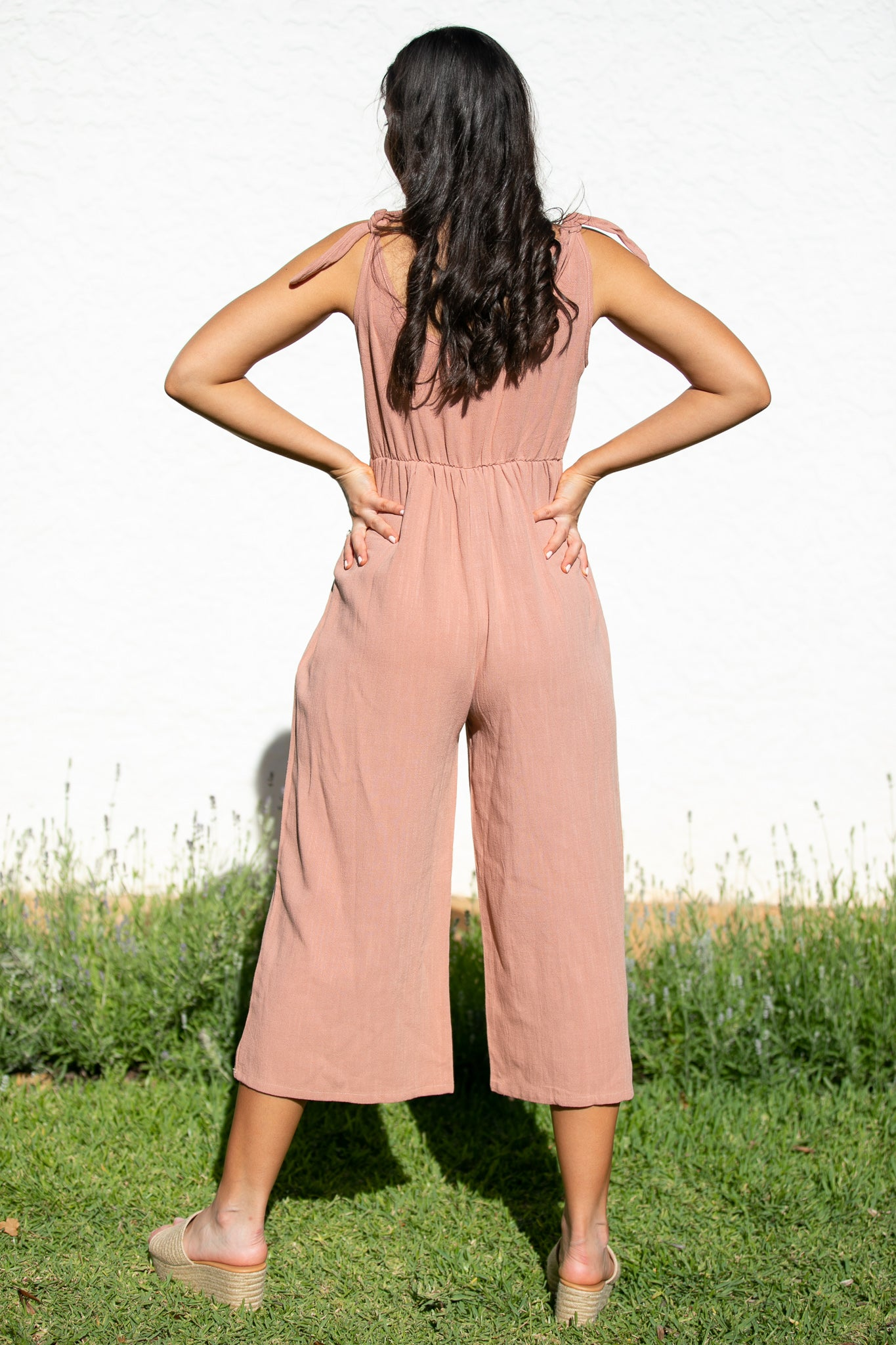 Penny Jumpsuit in Rust