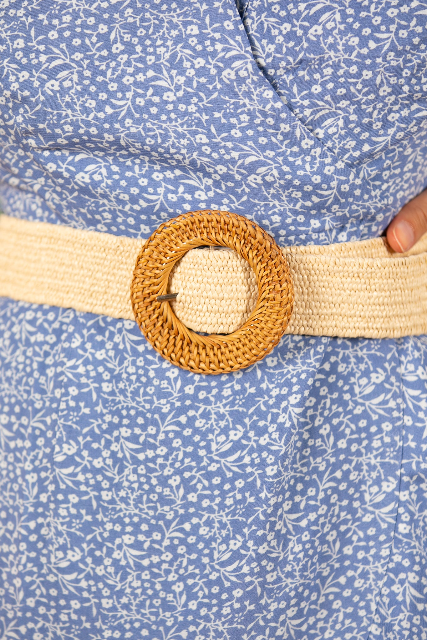 Ceba Belt in Ivory