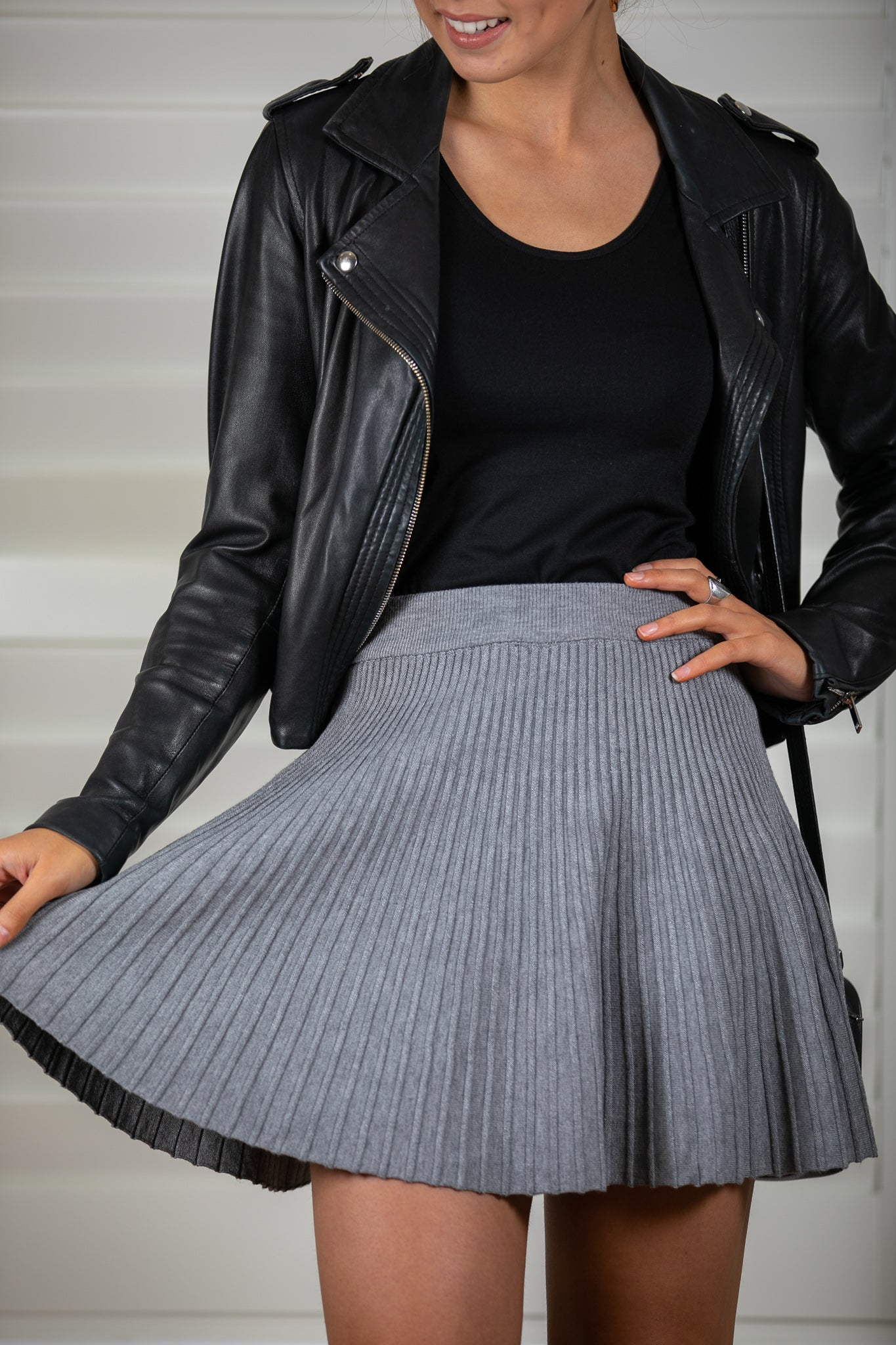 Angel Skirt in Grey