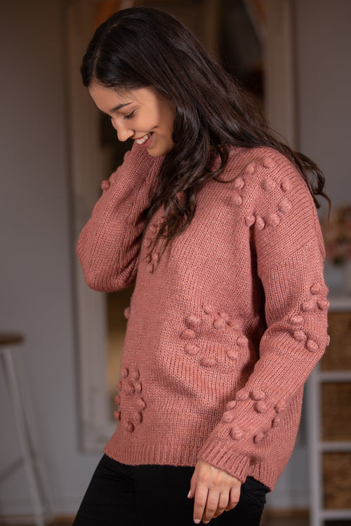 Millicent Knit in Rust