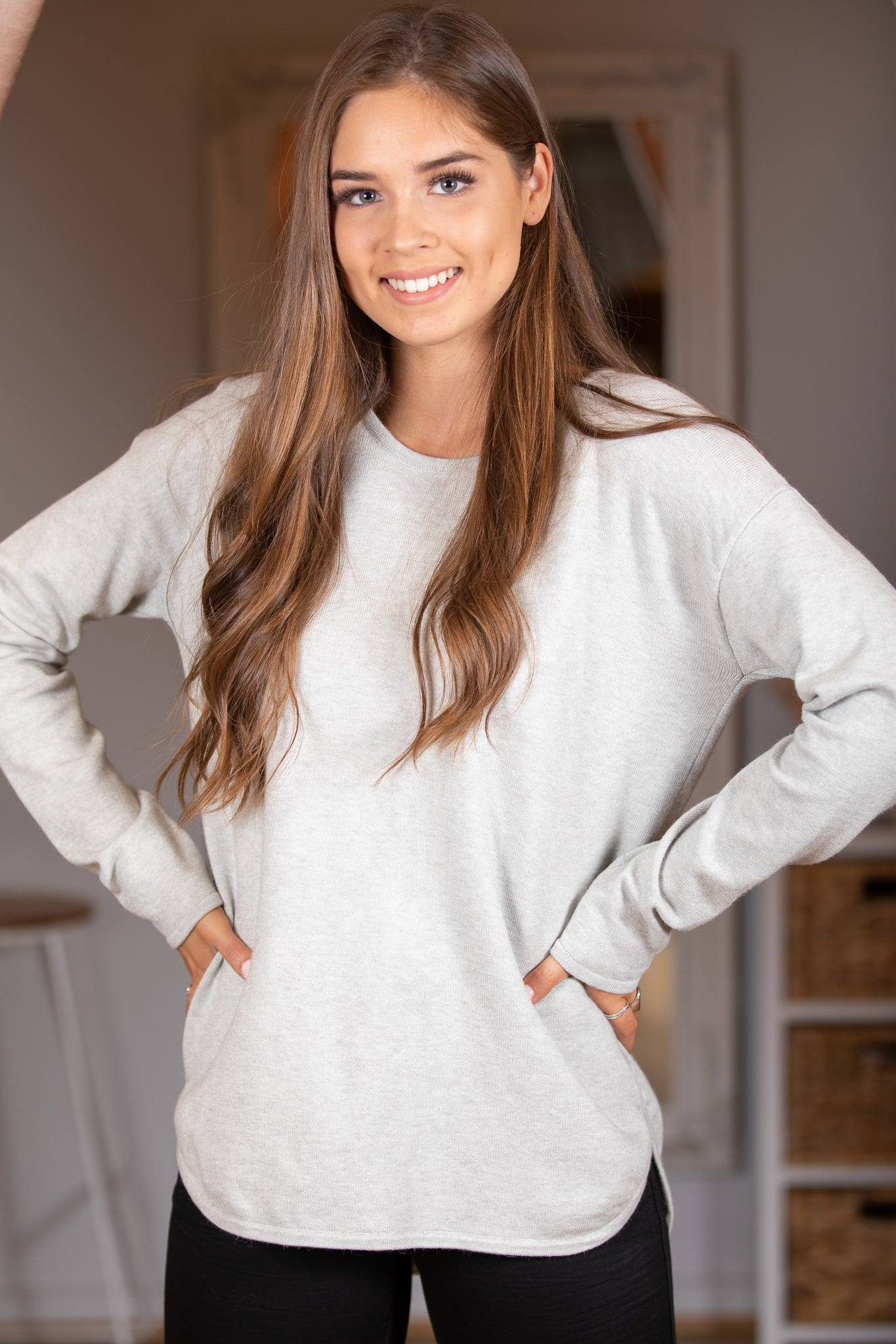 Maeve Jumper in Grey