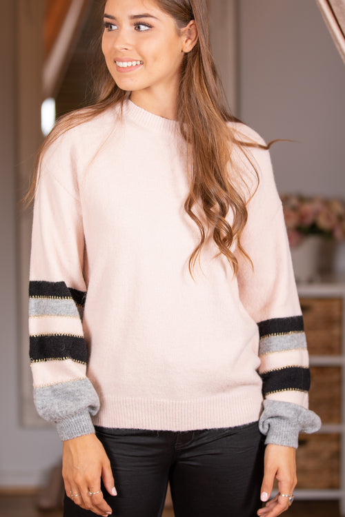 Hudson Knit in Blush