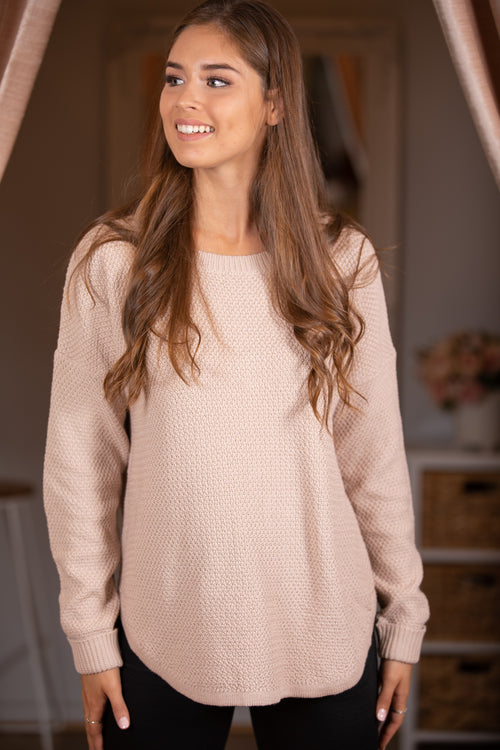 Rachelle Jumper in Beige