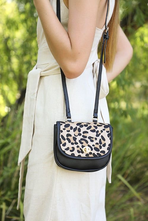 Libby Bag in Leopard