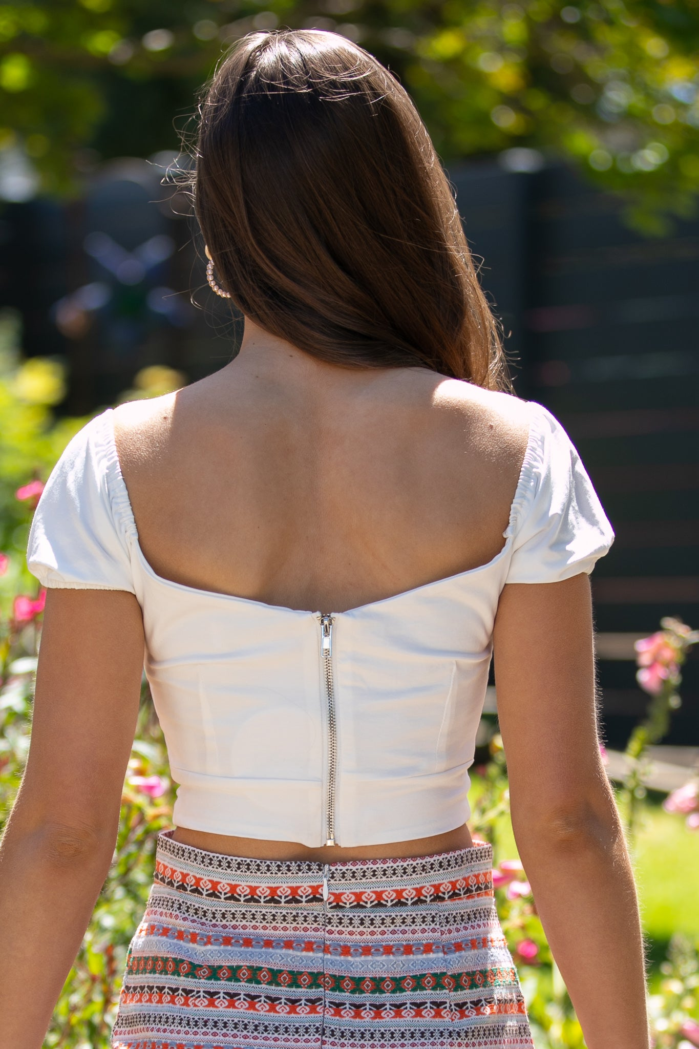 Eleanor Top in White
