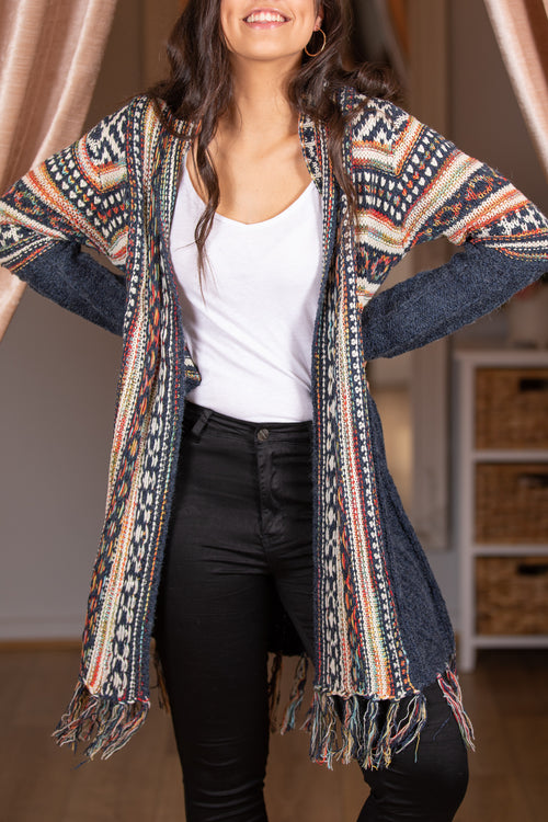 Kensley Cardigan in Navy
