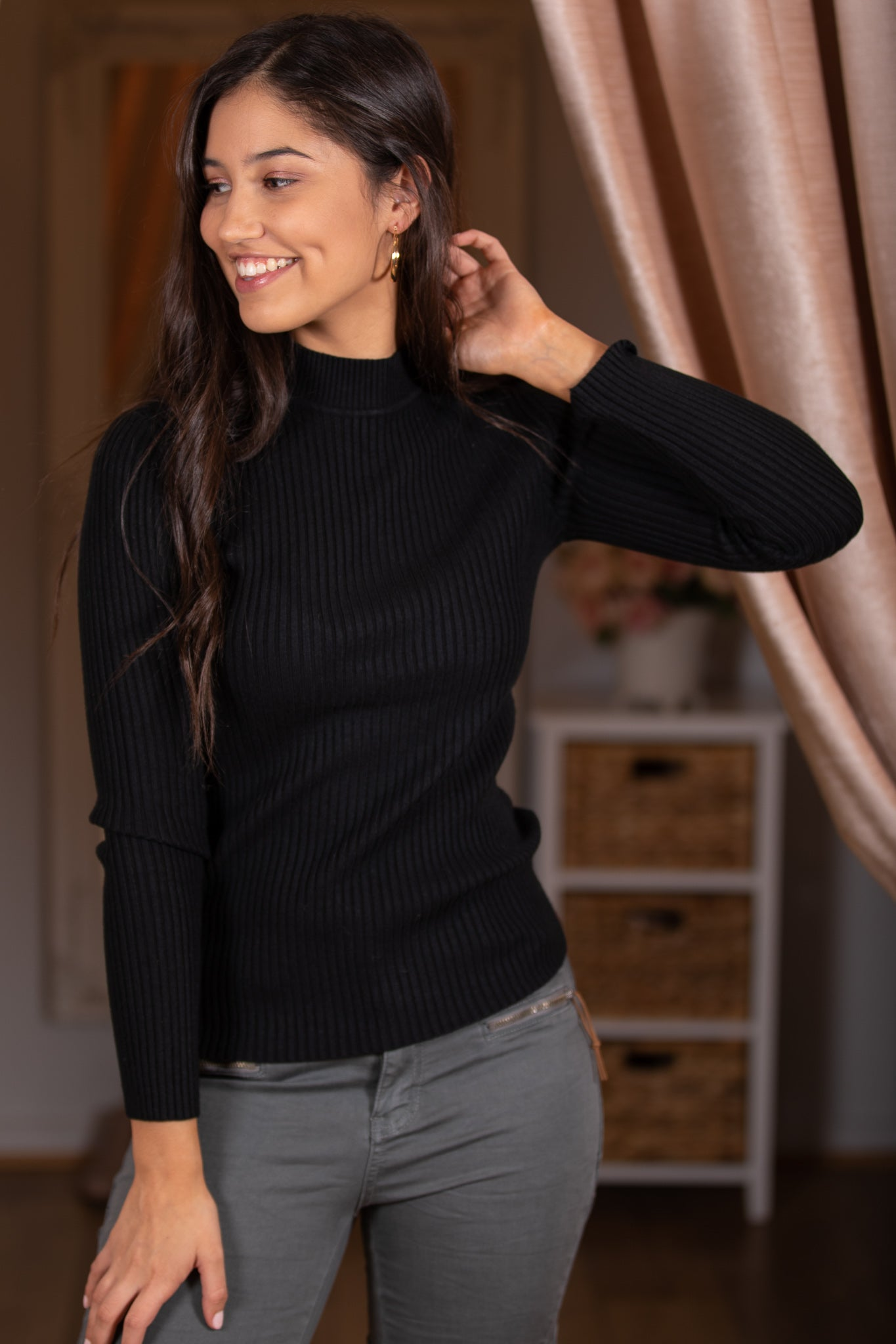 Zoe Jumper in Black