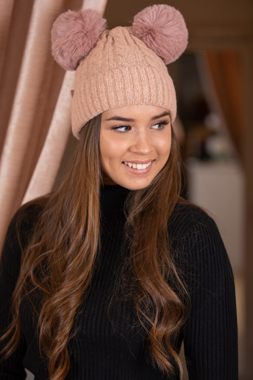 Pippy Beanie in Blush