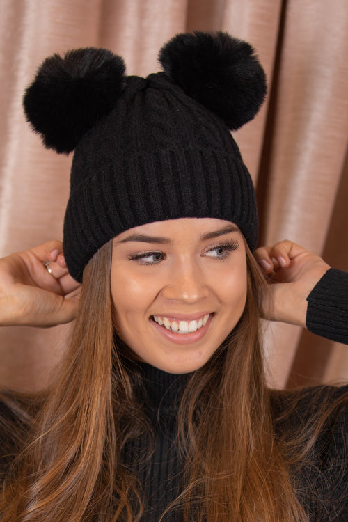 Pippy Beanie in Black