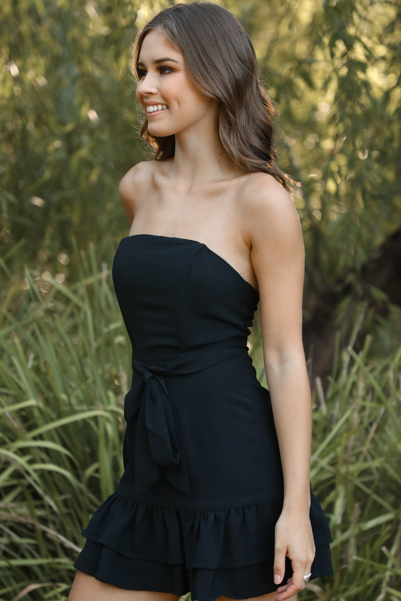 Lani Dress in Black