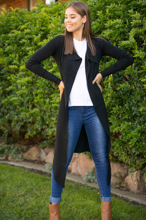 Linnie Cardi in Black