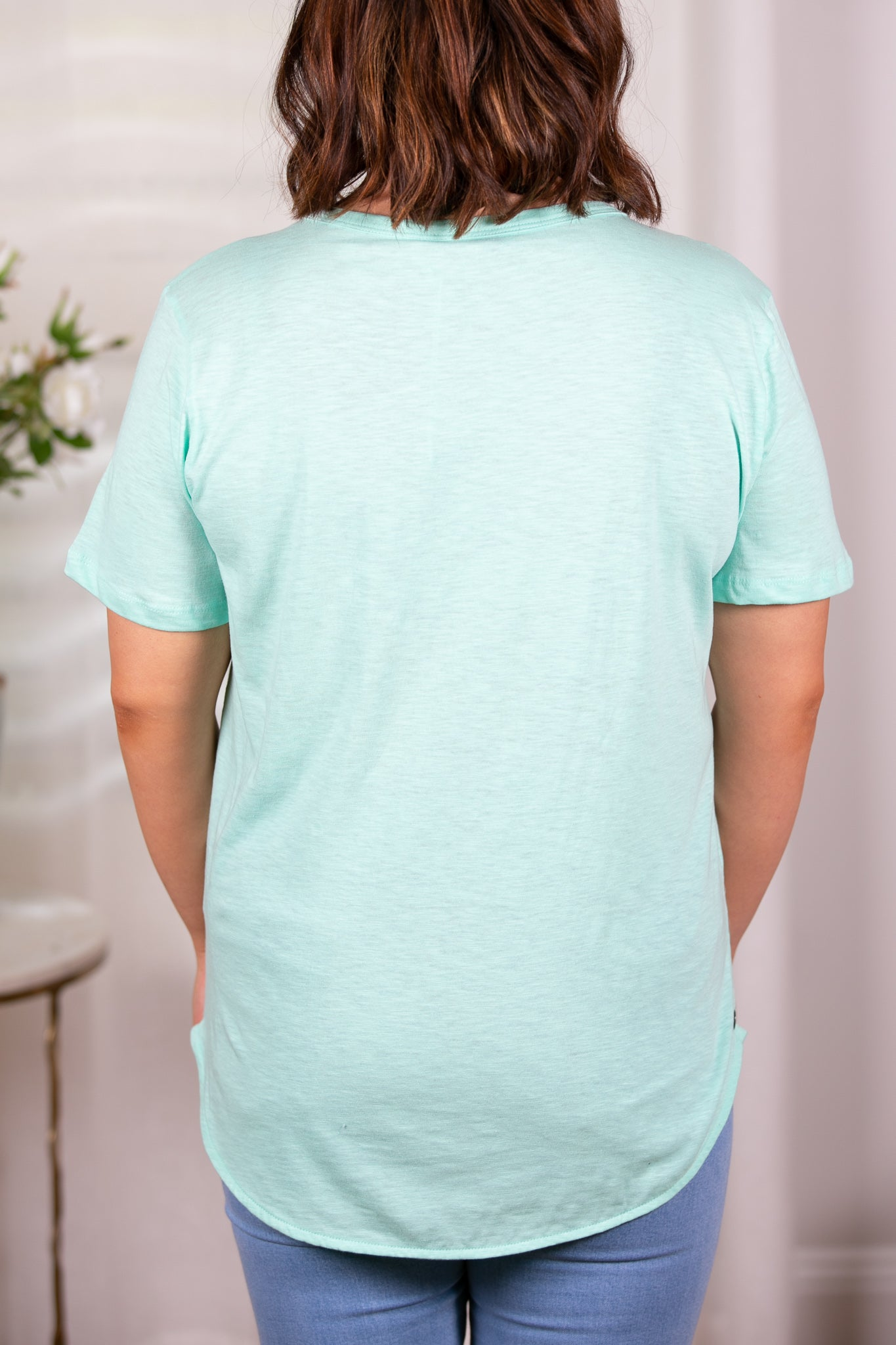 Gypsy Tee in Mint