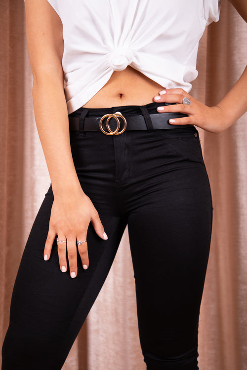 Hope Belt in Black