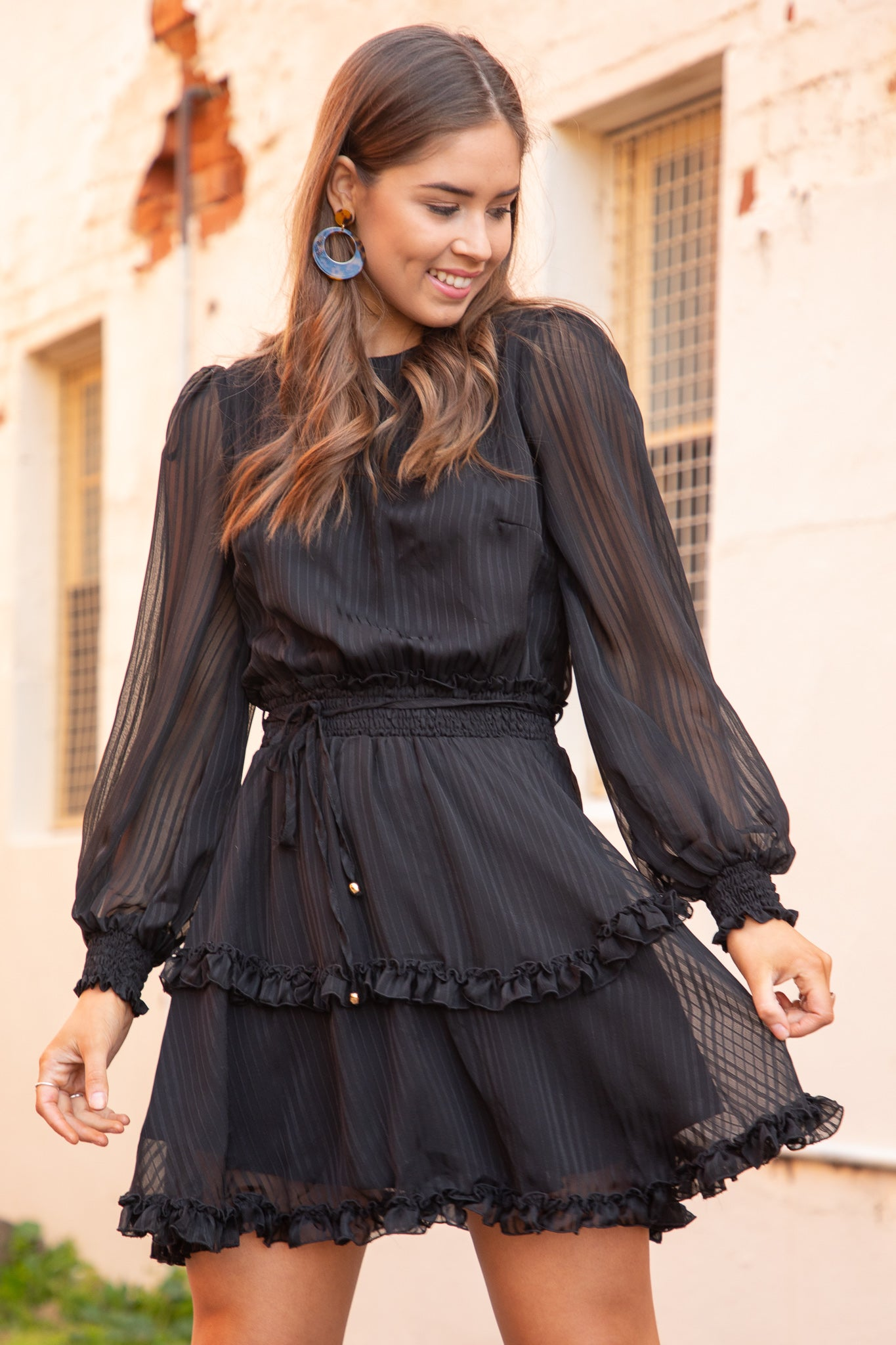 Roseville Dress in Black