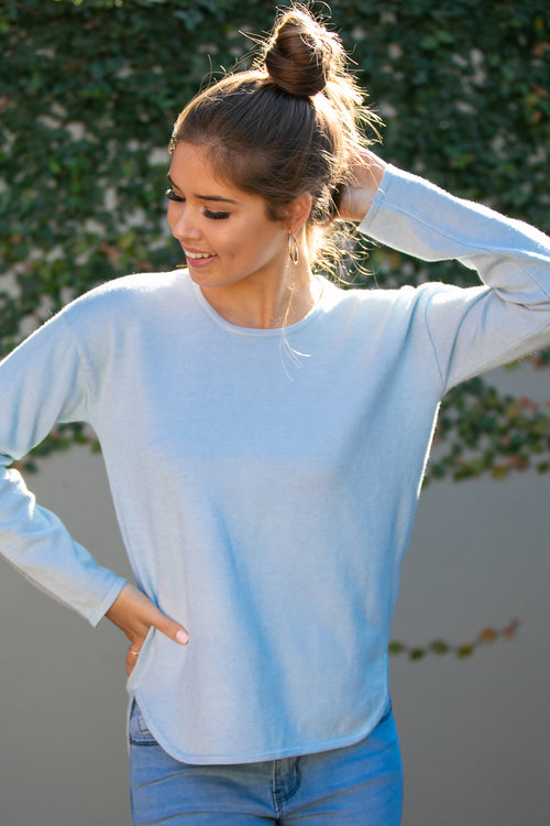 Maeve Jumper in Sky Blue