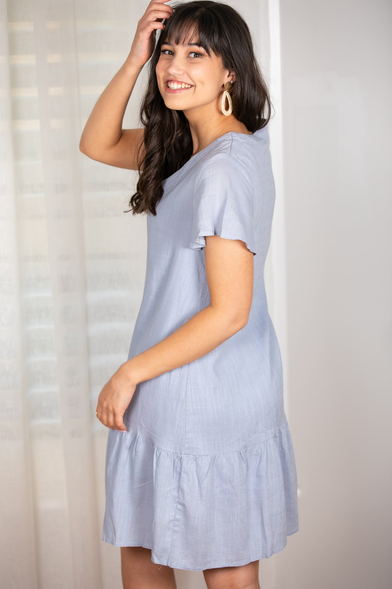Esther Dress In Blue