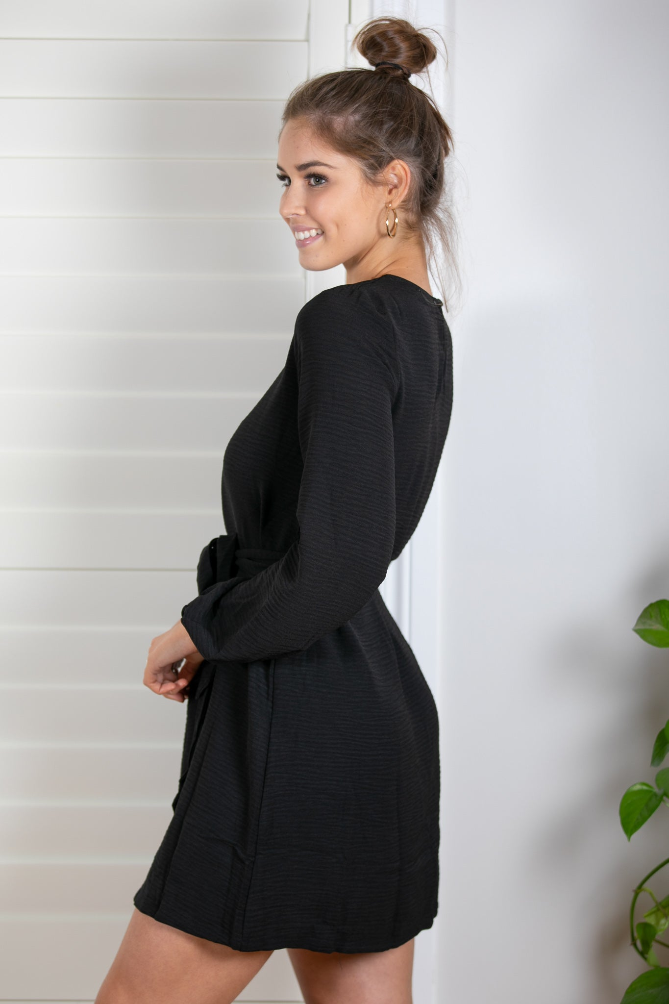 Flo Dress in Black