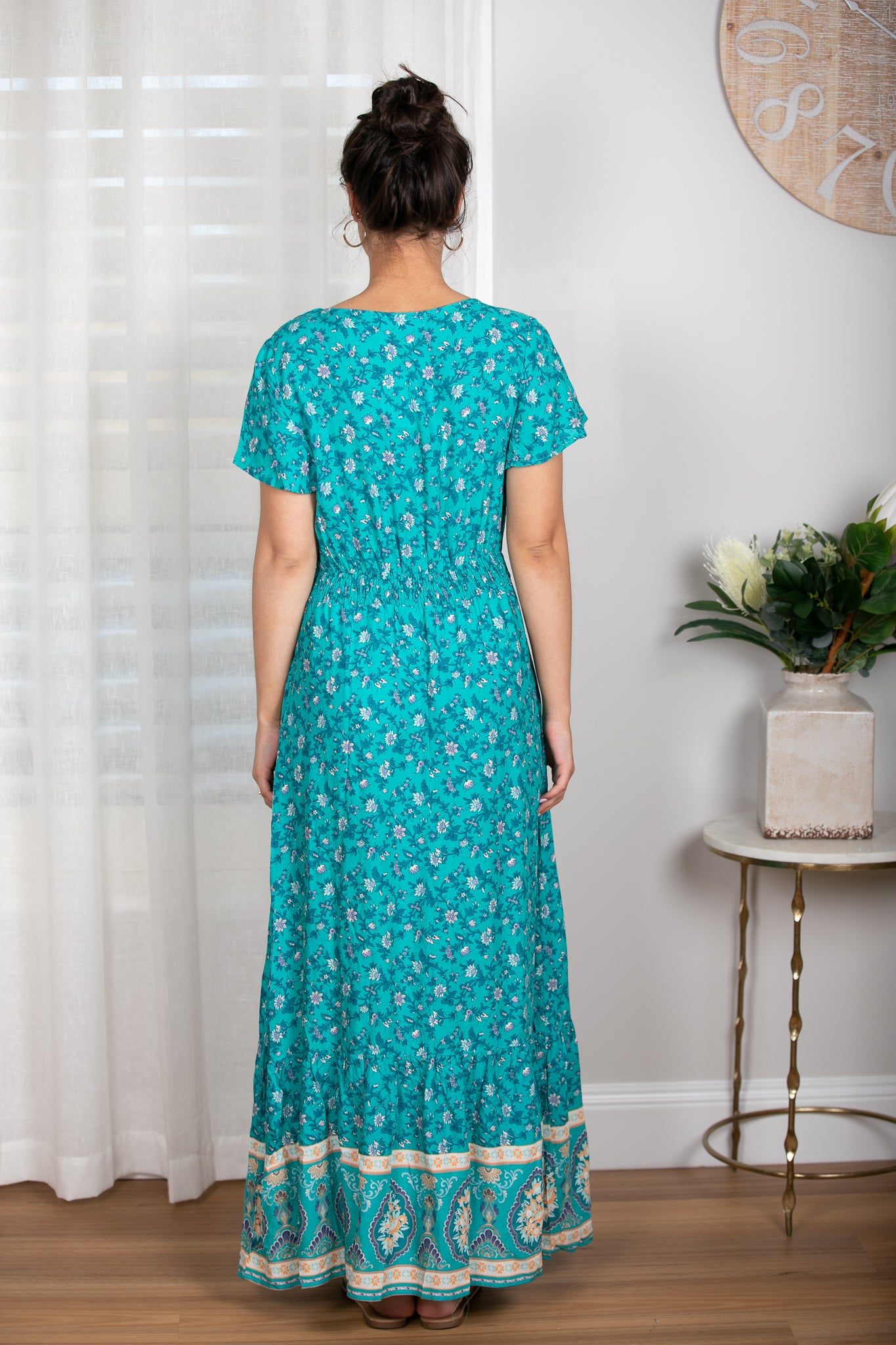 Florence Maxi Dress In Green