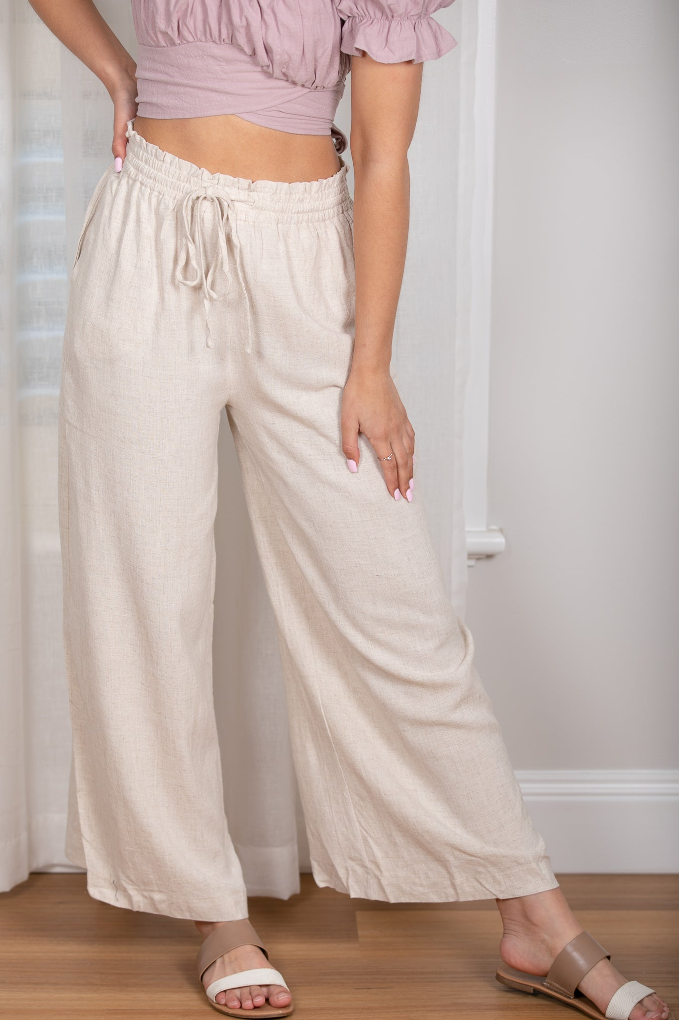 Kinsley Pants in Sand