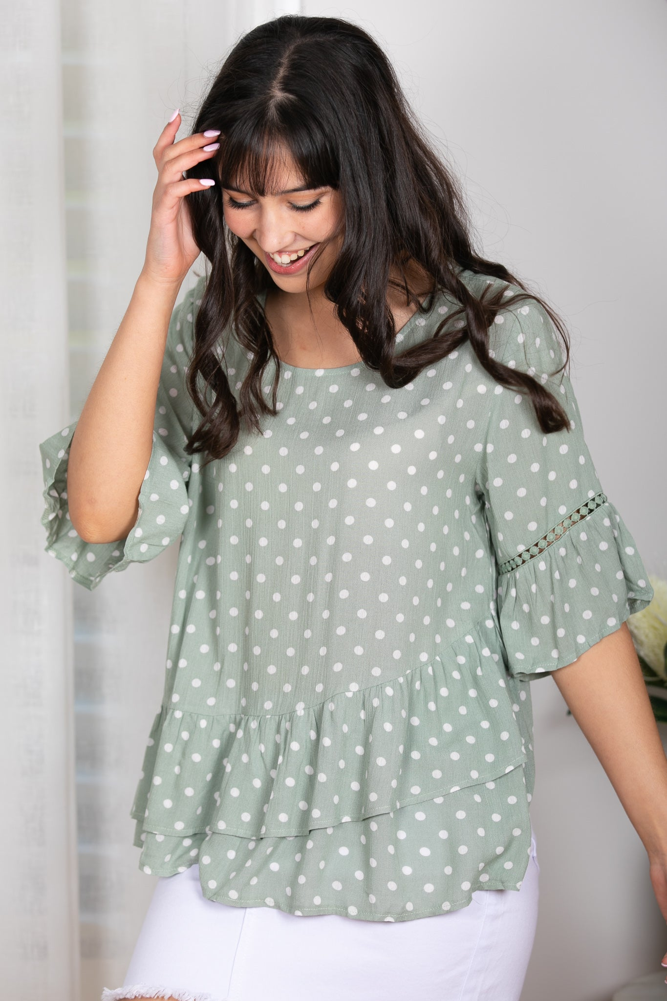 Maisy Top in Green