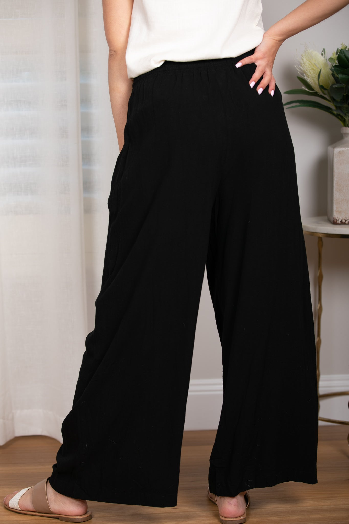Kinsley Pants in Black
