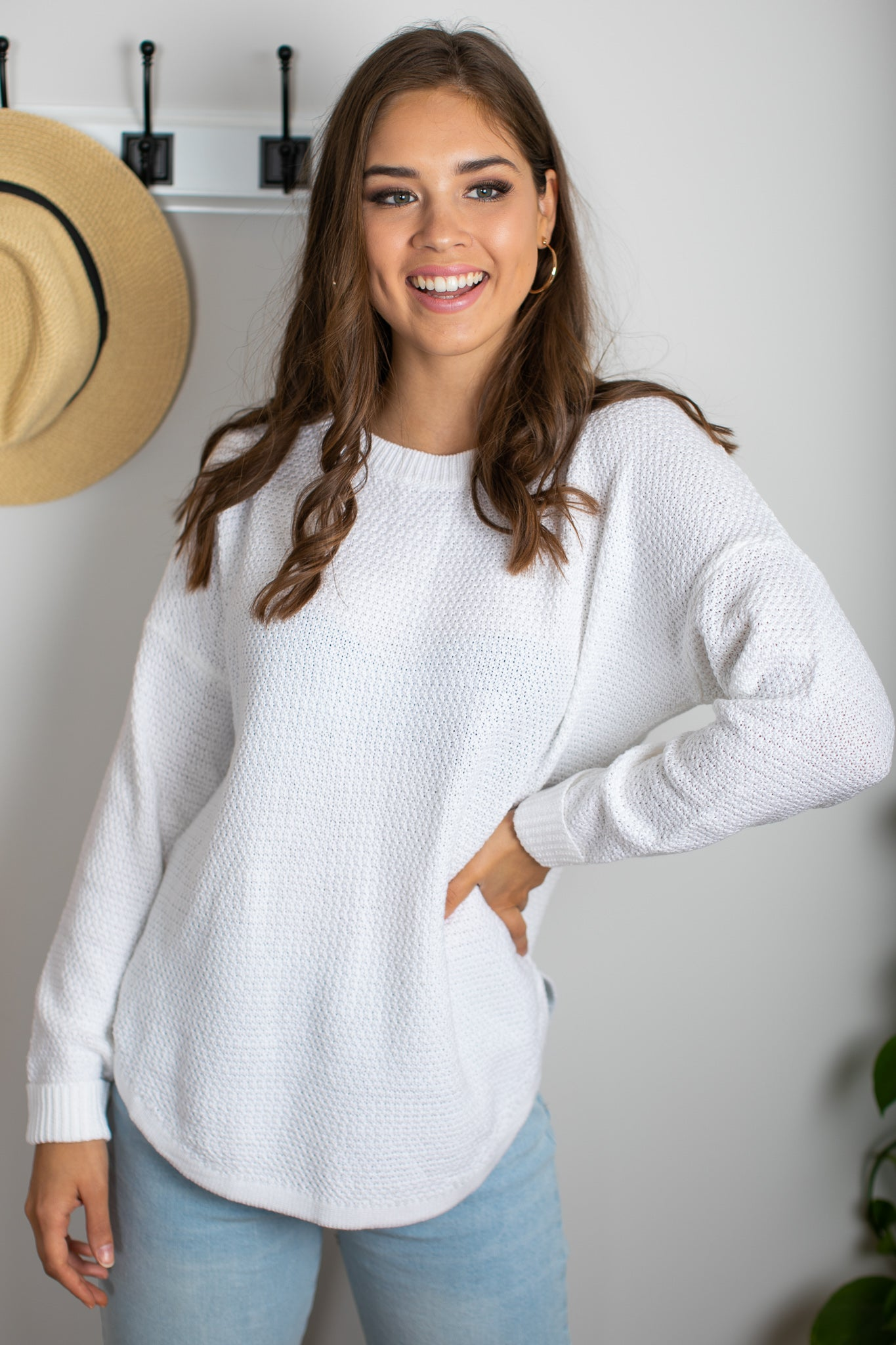 Rachelle Jumper in White