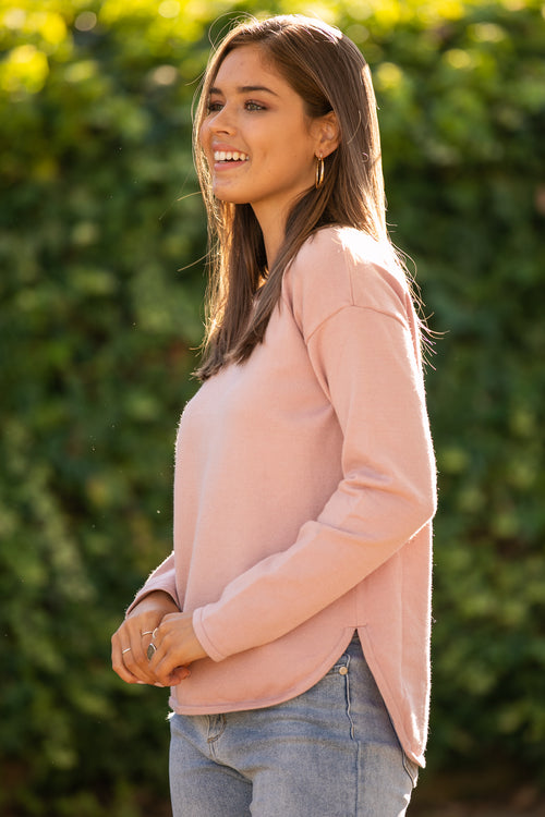 Maeve Jumper in Rose