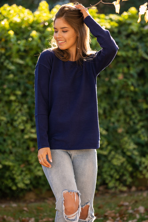 Maeve Jumper in Navy