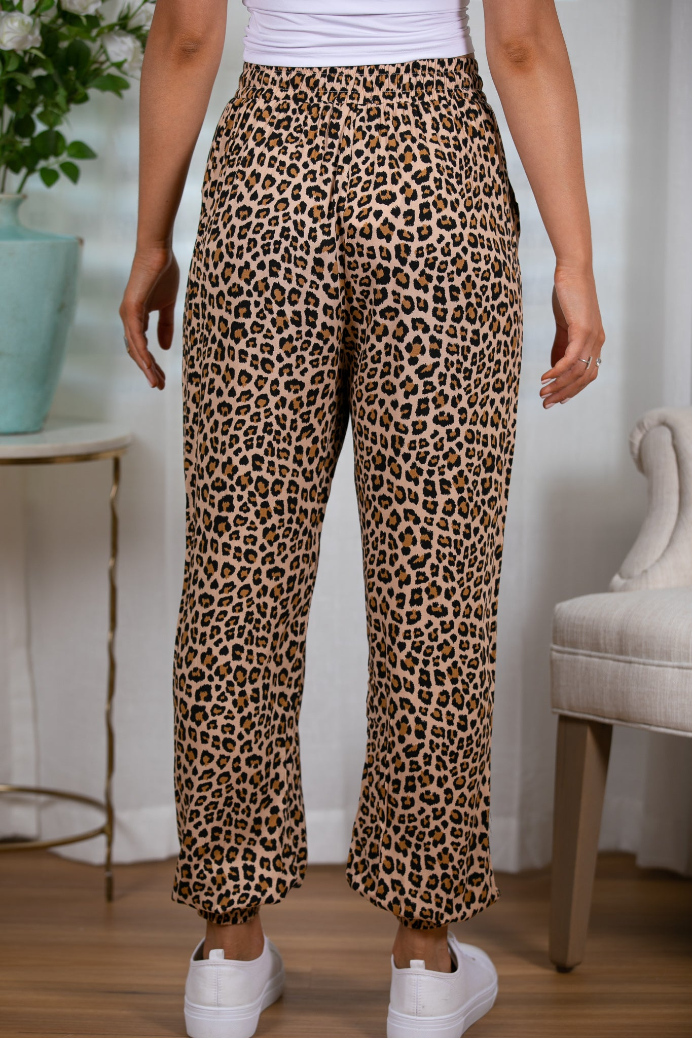 Perry Pants in Leopard