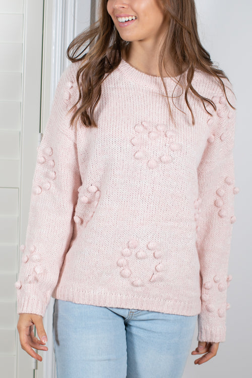 Millicent Knit in Blush
