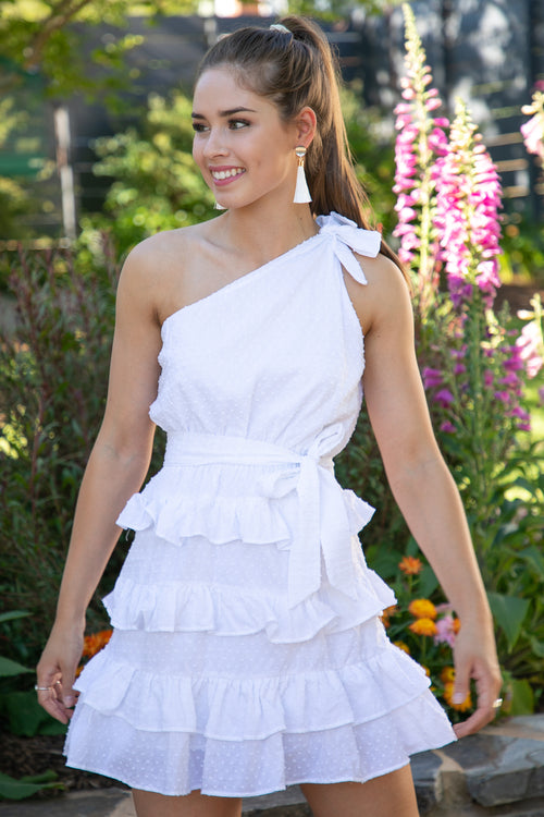 Lara Dress in White