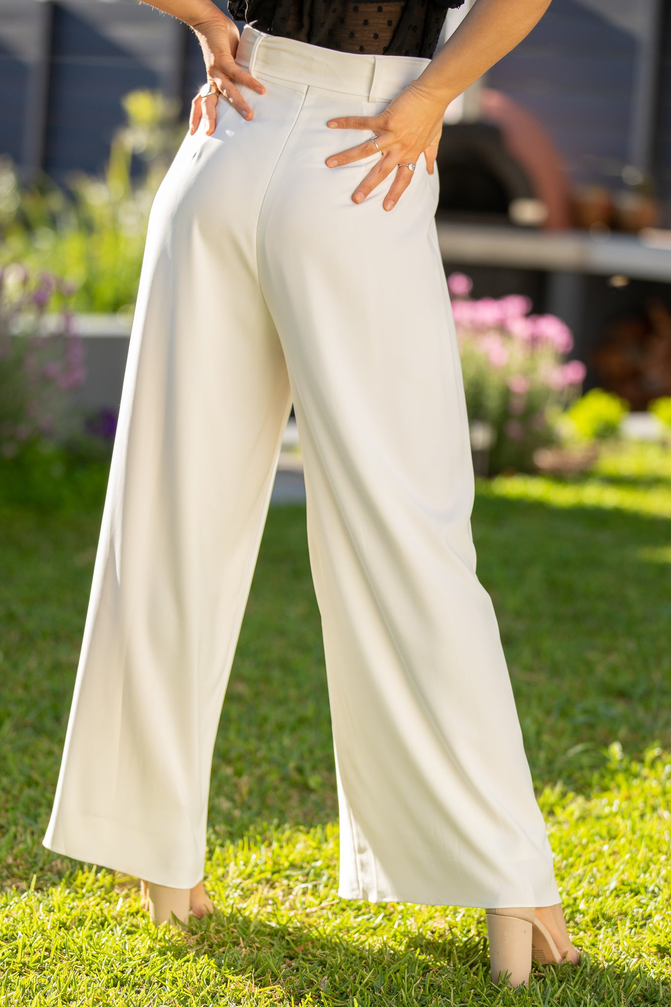Pacey Pants in White