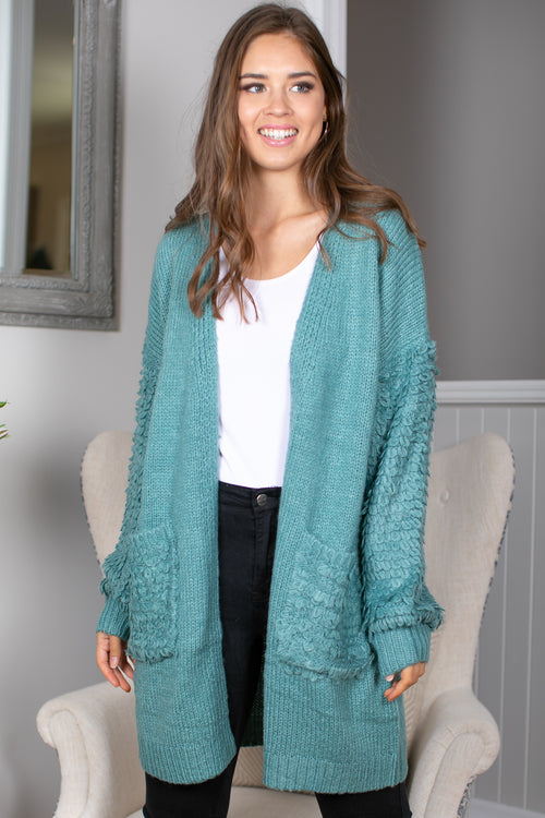Willow Cardi in Sage
