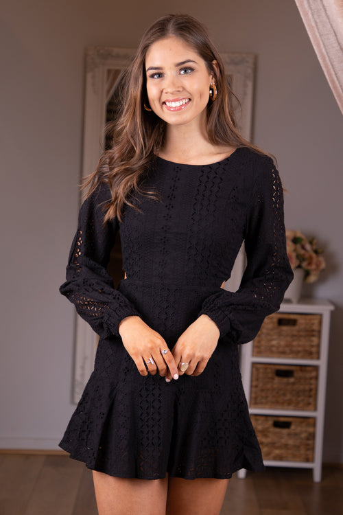 Jackie Dress in Black