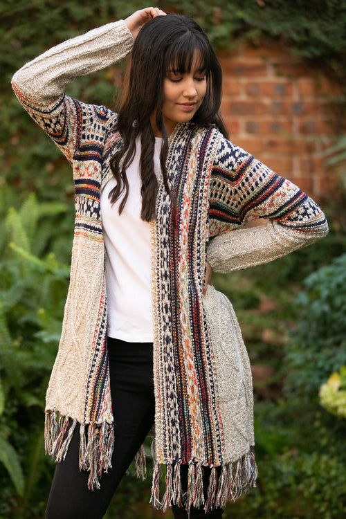 Kensley Cardigan in Oatmeal