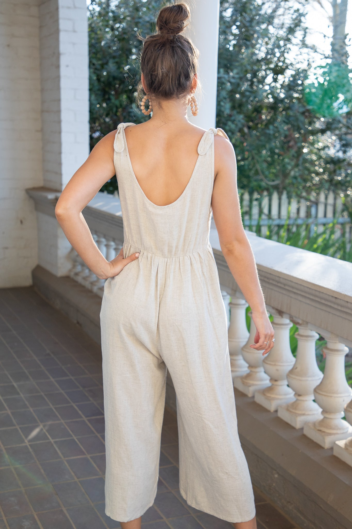 Penny Jumpsuit in Sand