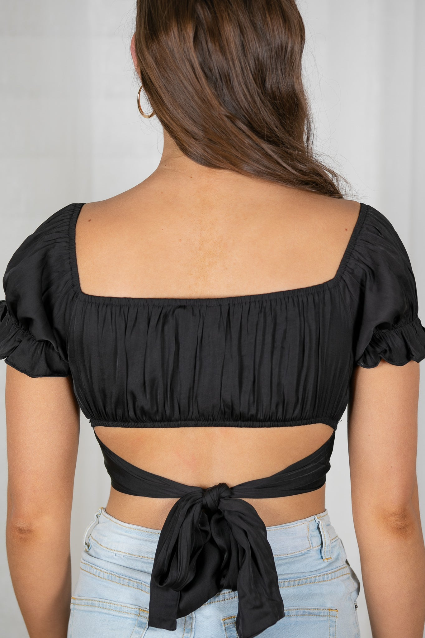Pia Top in Black