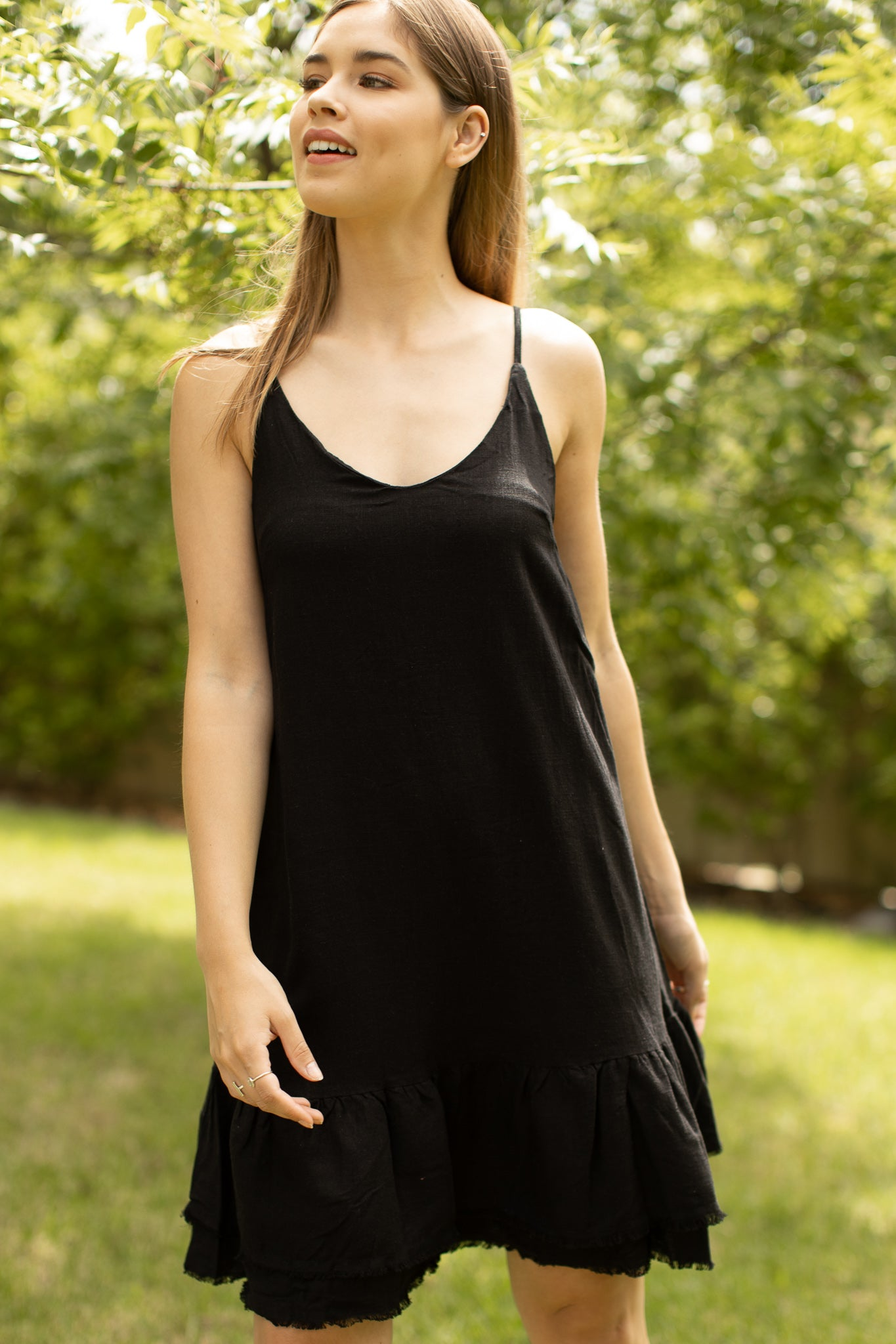 Larna Dress in Black